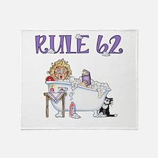 RULE 62 Throw Blanket