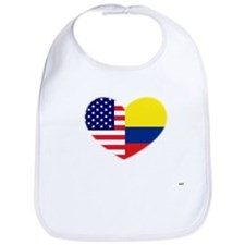 Columbian-American Heart Bib