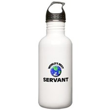 World's Best Servant Water Bottle