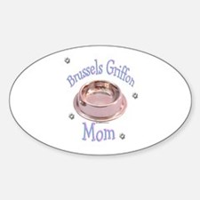 Brussels Mom Oval Decal