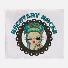 Recovery Rocks~2000x2000.png Throw Blanket