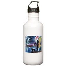 Follow the sun Water Bottle