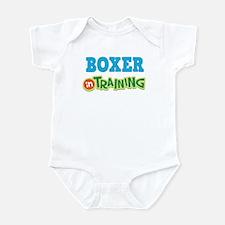 Boxer In Training Infant Bodysuit