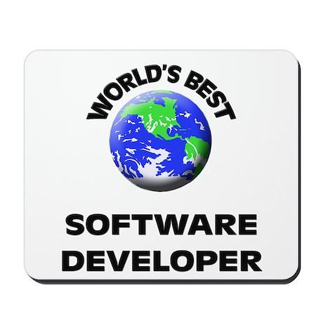 World's Best Software Developer Mousepad