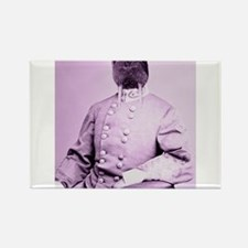 Walrus soldier Rectangle Magnet
