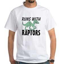 Runs with Raptors T-Shirt