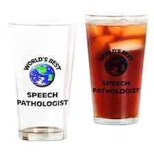 World's Best Speech Pathologist Drinking Glass