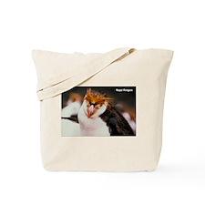 Royal Penguin Tote Bag