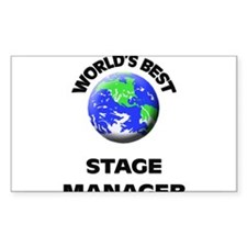 World's Best Stage Manager Decal