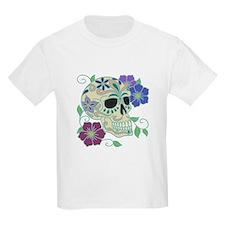 Day of the Dead Skull - Día d T-Shirt
