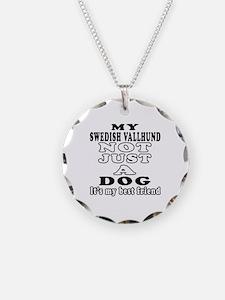 Swedish Vallhund not just a dog Necklace