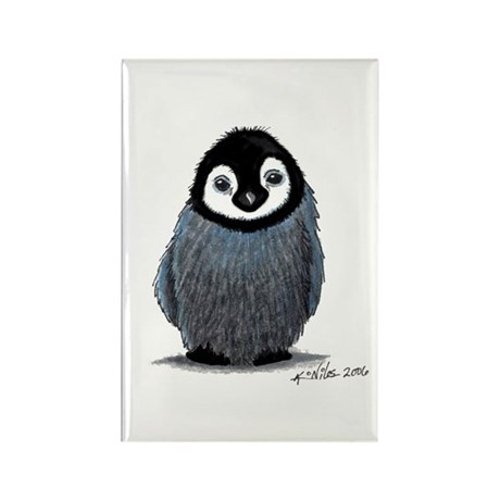 Baby Happy Penguin Rectangle Magnet (100 pack)