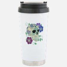 Sugar Skull Travel Mug