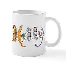 Hetty Mahjong Cats Roses Small Mug