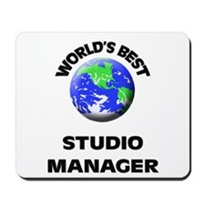 World's Best Studio Manager Mousepad