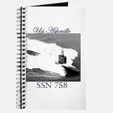 Uss Asheville ssn 758 Journal