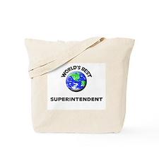 World's Best Superintendent Tote Bag