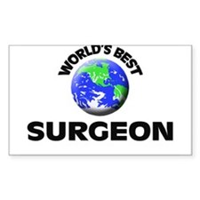 World's Best Surgeon Decal