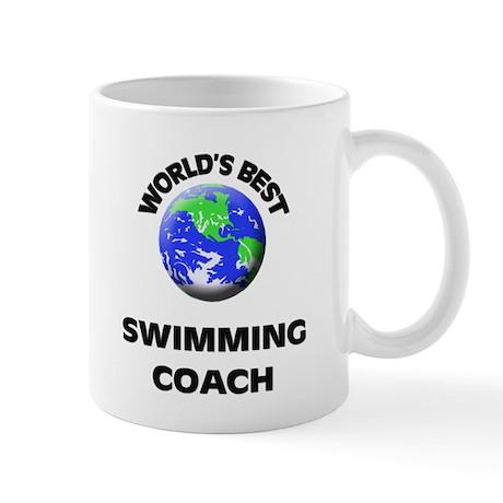 World's Best Swimming Coach Mug