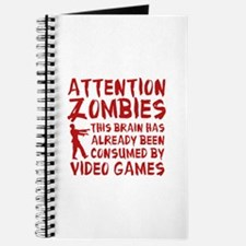 Attention Zombies Video Games Journal