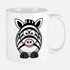 Cartoon Zebra Small Small Mug