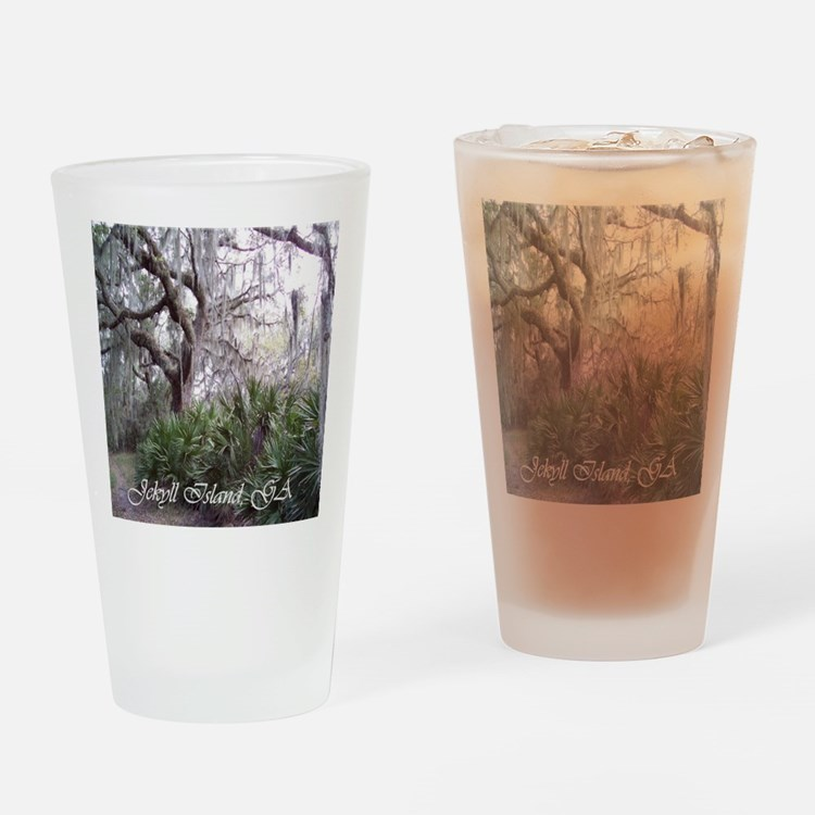 Jekyll Island, Georgia Drinking Glass