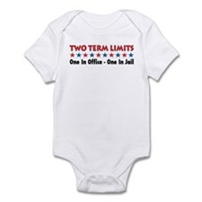 Two Terms Limits Onesie
