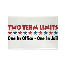 Two Terms Limits Rectangle Magnet (100 pack)