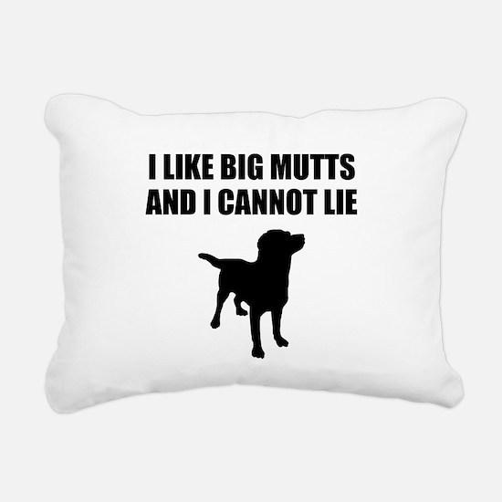 I Like Big Mutts And I Cannot Lie Rectangular Canv