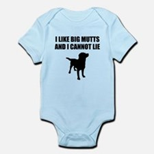 I Like Big Mutts And I Cannot Lie Body Suit