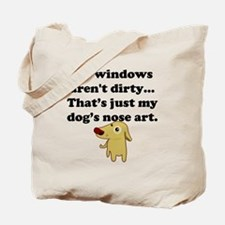 Dog Nose Art Tote Bag