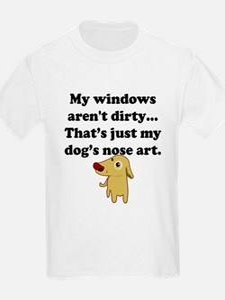 Dog Nose Art T-Shirt