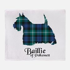Terrier - Baillie of Polkemett Throw Blanket