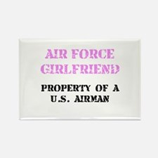 Air Force Girlfriend Rectangle Magnet (10 pack)