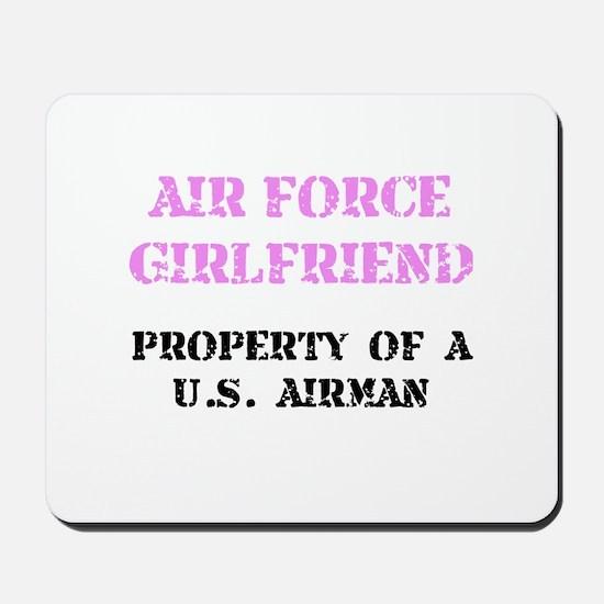 Air Force Girlfriend Mousepad
