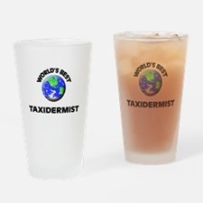 World's Best Taxidermist Drinking Glass