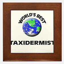 World's Best Taxidermist Framed Tile