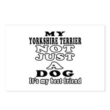 Yorkshire Terrier not just a dog Postcards (Packag