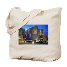 L A Streets Scene Concert Hall Tote Bag