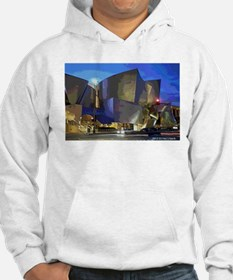 L A Streets Scene Concert Hall Hoodie