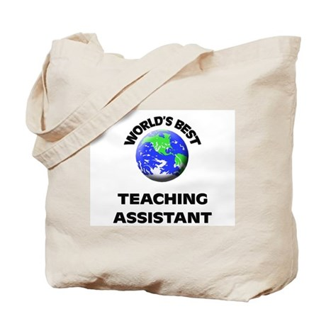 World's Best Teaching Assistant Tote Bag