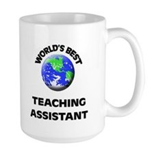 World's Best Teaching Assistant Mug