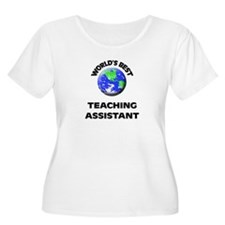 World's Best Teaching Assistant Plus Size T-Shirt