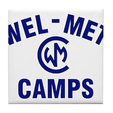 Wel-Met Camps Tile Coaster