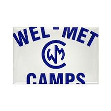 Wel-Met Camps Rectangle Magnet