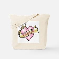 Sweetheart Tessa Custom Princess Tote Bag