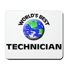 World's Best Technician Mousepad