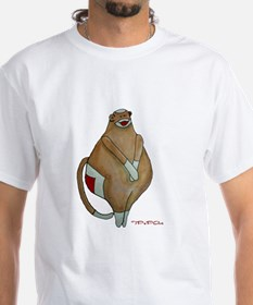 Front/Back Fat Sock Monkey Shirt