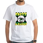 Play Free Online Chess White T-Shirt