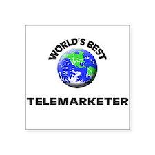 World's Best Telemarketer Sticker